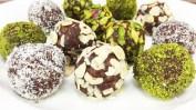 Çikolatalı toplar diğer çeşitleri