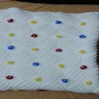En Güzel Bebek Battaniyesi Modelleri-5