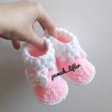 Bebek patiği yapımı