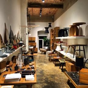 Inside Hamm's Tophane store