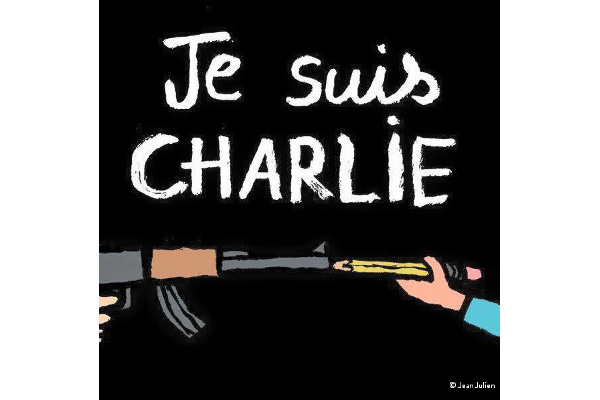 Je Suis Charlie, illustration by Jean Julien