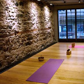 Photo of Karaköy LiT's beautifully designed yoga studio