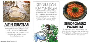 Canım Istanbul in Marie Claire