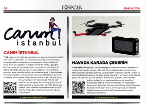 Canım Istanbul in Postkolik