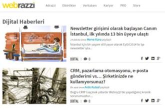 Webrazzi screenshot of Canım Istanbul 1