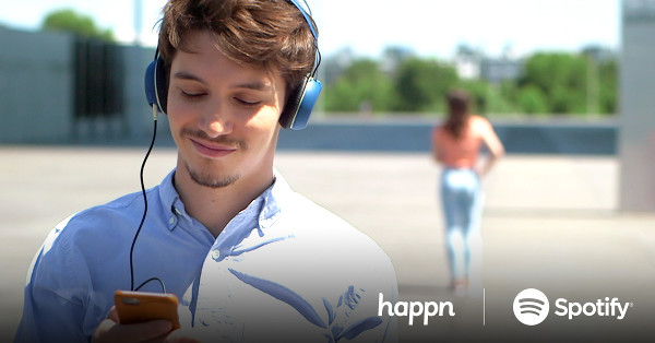 happn istanbul: There is a Spotify connection on users' profiles for those who weigh up a person not through their appearance but through their taste in music