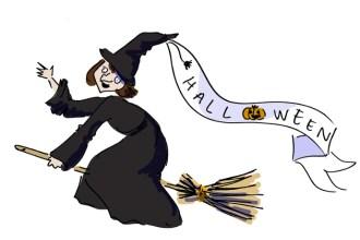 Bu hafta sonu Halloween partisine gidiyoruz