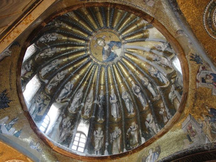 Chora Museum ceiling