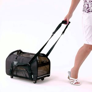 Bergan Wheeled Comfort Pet Carrier