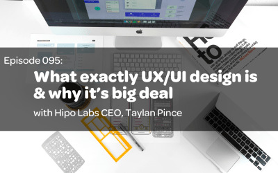 E95: What exactly UX/UI design is & why it's big deal with Hipo Labs CEO, Taylan Pince