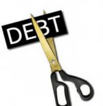 Debt scissors