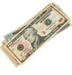 A little cash