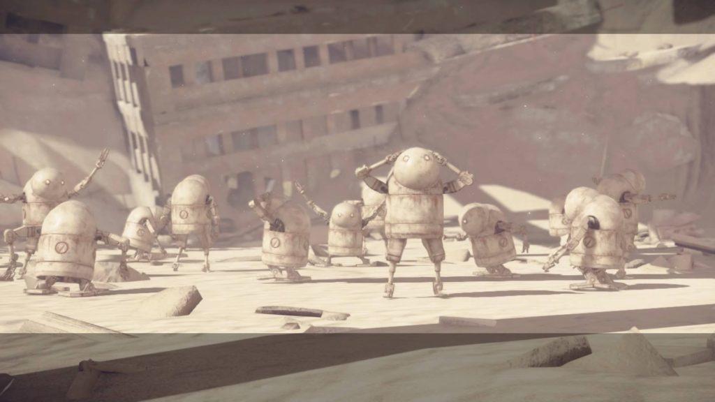 Robots dancing