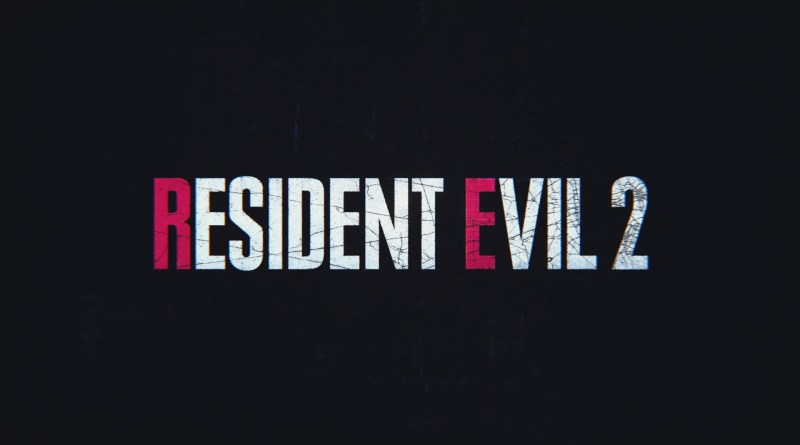 RE2 title screen