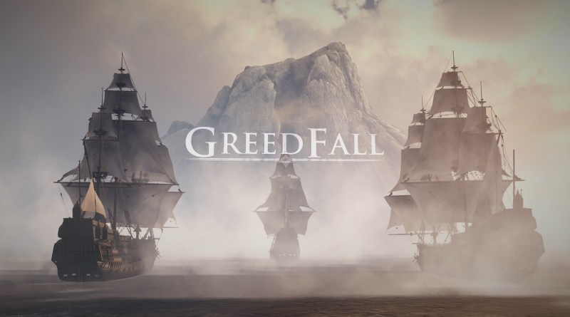Greedfall title screen
