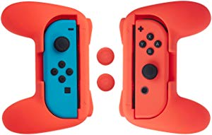 AmazonBasics Grip Kit for Nintendo Switch Joy-Con Controllers. Price £7.42. Clicking the image will bring you to the Amazon Store.