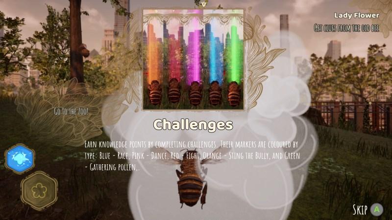 Illustrating the color-based challenge system.