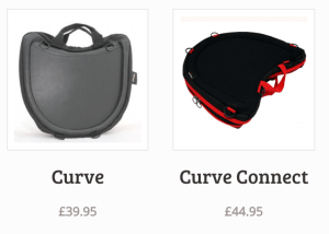 image of the curve and curve connect laptables. prices £39.95 for the Curve and £44.95 for the Curve Connect