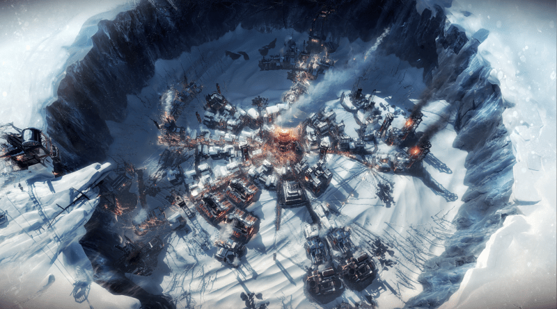 Frostpunk press art