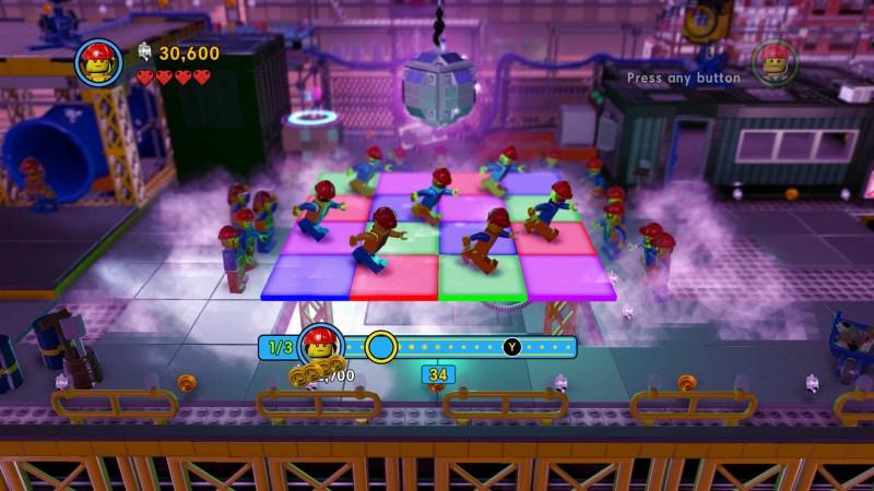 Illustrating the rhythm based minigame.