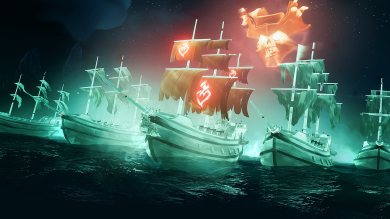 Sea of Thieves Haunted Shores Update Improves Radial Wheels for Non-Verbal Comms