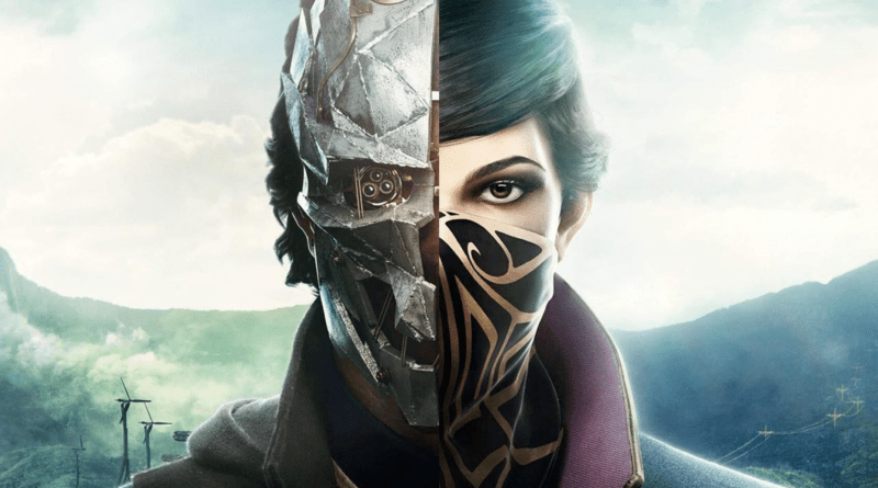 Dishonored 2 cover art.