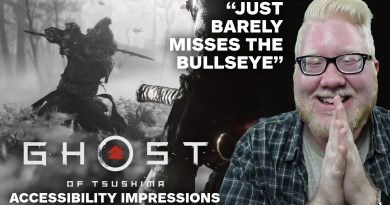 Ghost of Tsushima Accessibility Impressions — Just Barely Misses the Bullseye