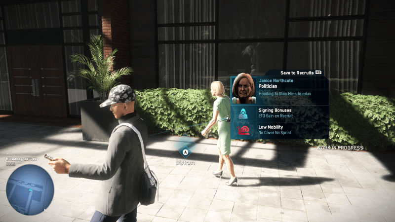 Watch Dogs Legion Example of the mobile phone hackign