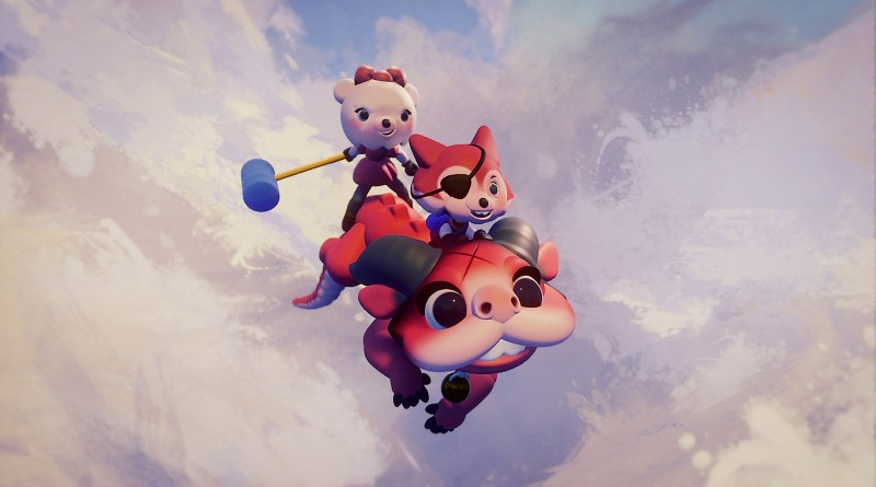 Dreams key art, three creatures flying