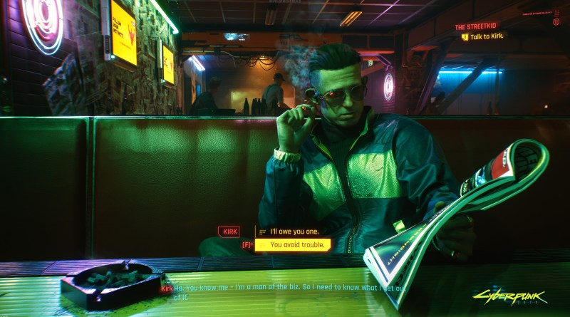 Cyberpunk 2077 Confirmed to Have Adjustable Subtitles