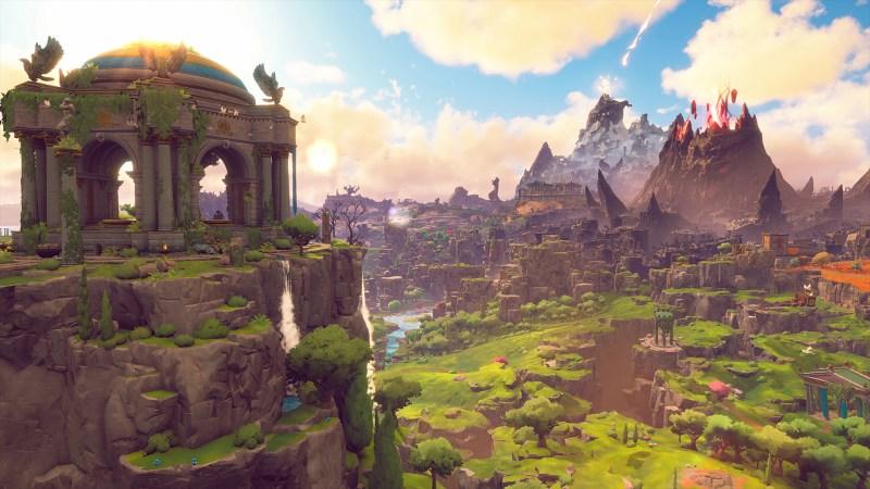 Immortals Fenyx Rising landscape