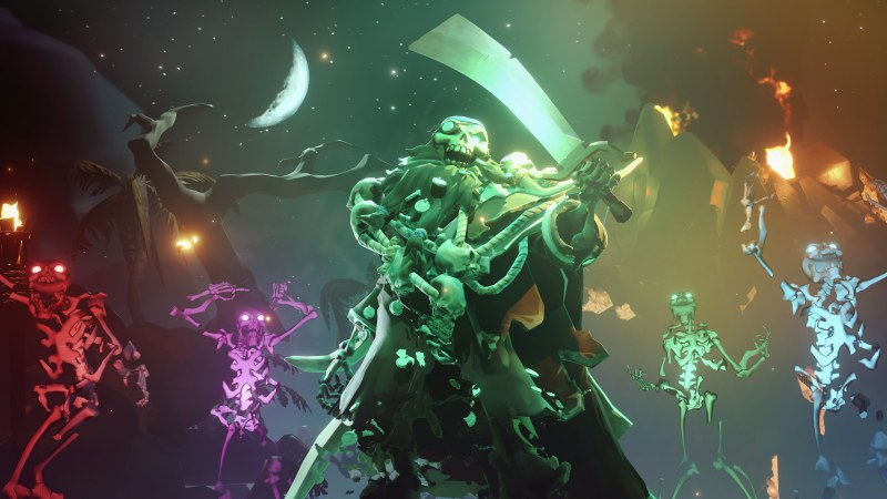 Sea of Thieves Fate of the Damned Update Introduces Narrated Emotes and Auto Move