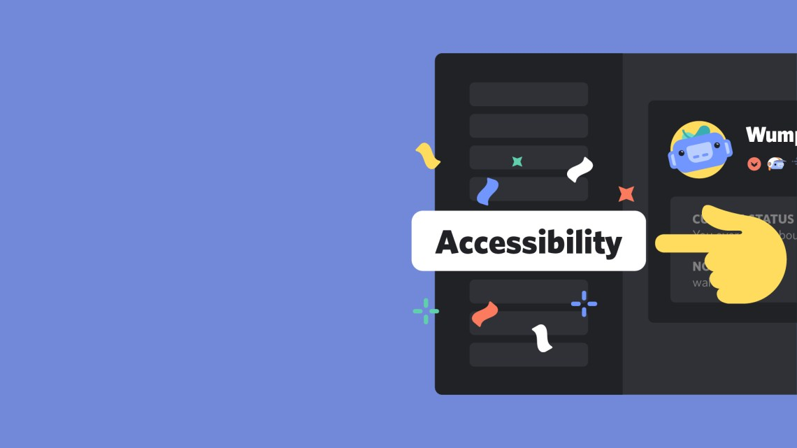 Discord announces addition of an accessibility dedicated menu