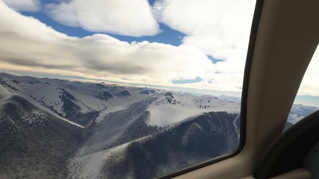 Microsoft Flight Simulator north pole