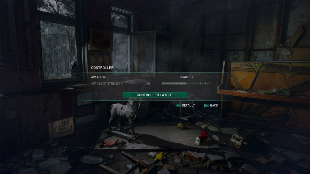 chernobylite controller settings