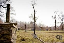 Cmentarz z I wojny światowej Nr 15 widok na część południowo-wschodnią