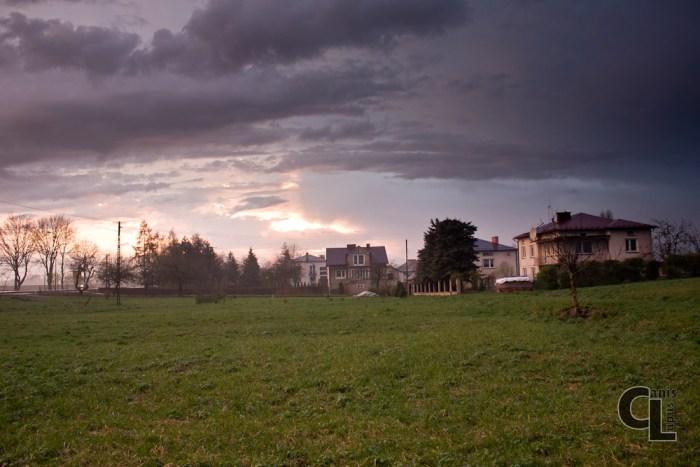 Miejsce gdzie stał II Obóz jeniecki w Szebniach.