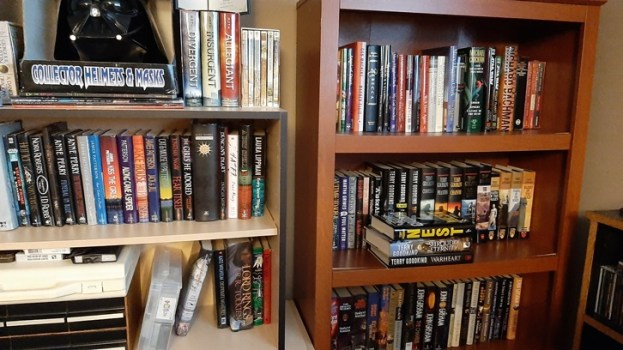A.P. Fuchs Bookshelf Section