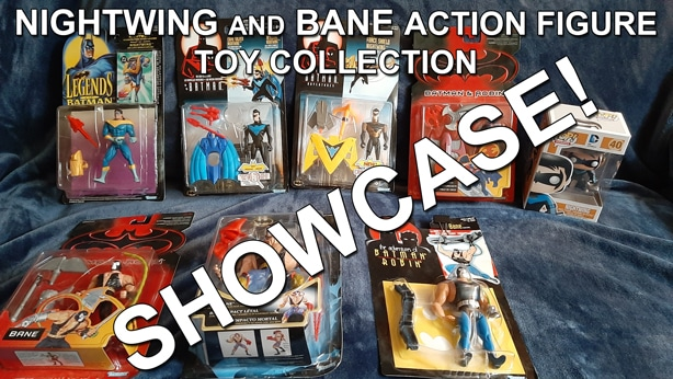 Nightwing and Bane Action Figure Toy Collection thumbnail