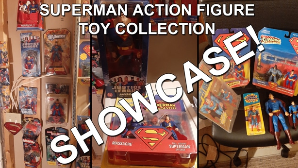 Superman Action Figure Toy Collection thumbnail