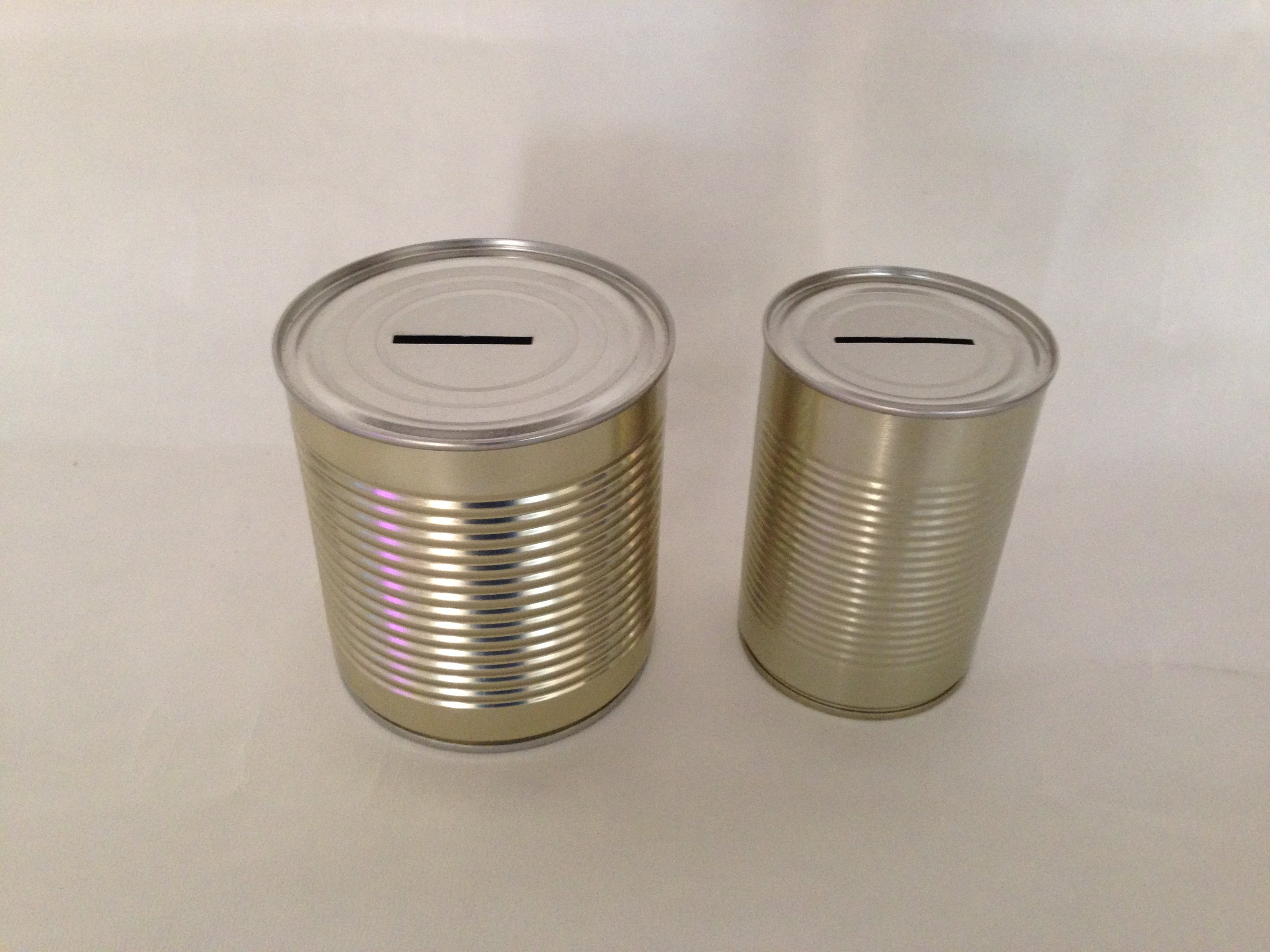 One Supplied by MONEY BOX I cant get in Tin Money Box