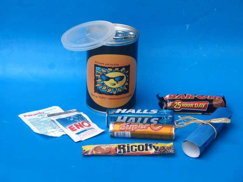 Corporate Gifts in a Tin