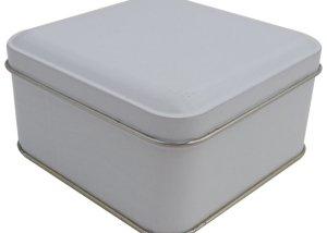 Cr18W 99x99x50-Custom Square Tin Box