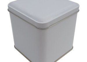 Cr19W 99x99x100-Custom Square Tin Box