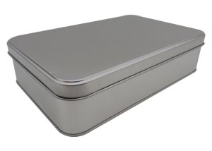 Cr27 214x141x50-Custom Rectangular Tin Box
