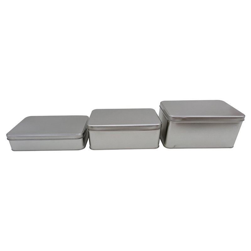 Plain Rectangular Tins
