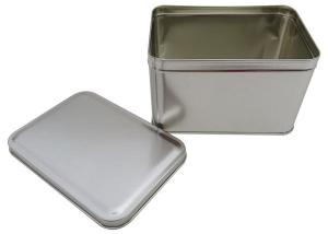 Cr21B 165 x 113 x100-Custom Rectangular Tin Box