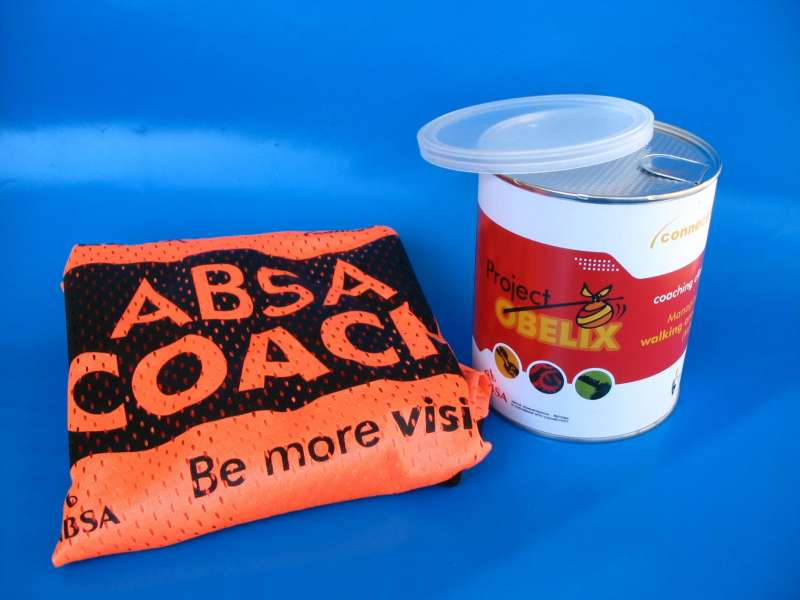ABSA A6 Shirt Sealed inside a Tin Can