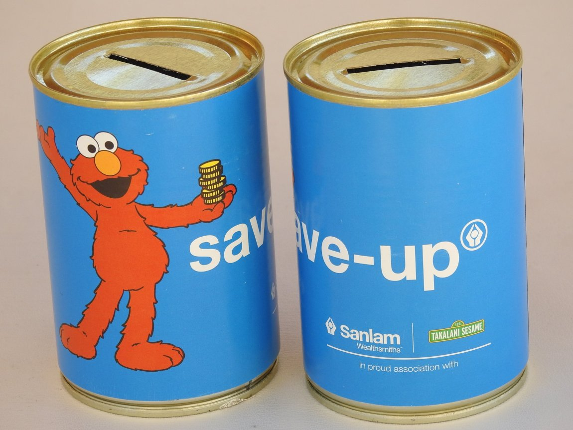 Sanlam Takalani Branded Money Cans