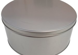 Cr15 228x100 Round Metal Cake Tin